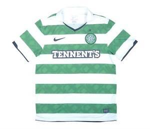 Celtic 2010-12 ORIGINALE Maglietta (BUONO) M SOCCER JERSEY
