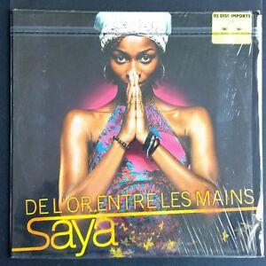 Saya-De-L-039-or-Entre-Les-Mains-Vinyl-12-034-MAXI-33-TOURS