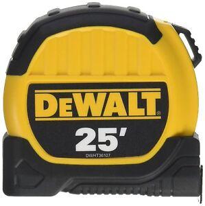Dewalt Dwht36107 Tape Measuring 25 Ft SuppléMent éNergie Vitale Et Nourrir Yin