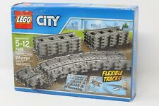 Lego 7499 City Flexible and Straight Train Tracks NEW SEALED RETIRED