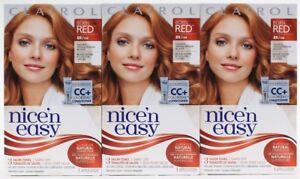 3 Clairol Nice  n Easy Permanent Dye Born Red 8R Natural Medium ... 88dba0c41698