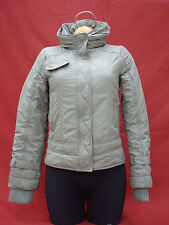 MNG Mango Green Polyester Women's Jacket Coat Parka Size S