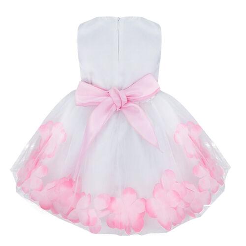 Baby Mädchen Kommunion Taufkleid Kleinkind Festlich Babykleid 68 74 80 86 92 98