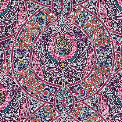 Gambier C LIBERTY OF LONDON XL FQ Fabric AW15 Pink POMEGRANITE Tudor TANA LAWN