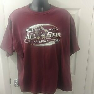 2011-AHL-ALL-STAR-GAME-t-shirt-2XL-Hershey-Bears-PA-hockey-tee