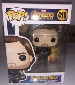 Funko-POP-Winter-Soldier-Bucky-Barnes-w-Weapon-418-Infinity-War-Figure-Marvel