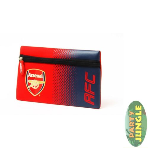 Arsenal Fade Flat Pencil Case Pens School Offical Licensed Stationary