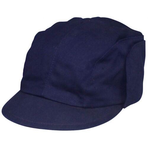 ORIGINALE BW Berretto bordo blu come nuovo copricapo Cappello Berretto Cappuccio