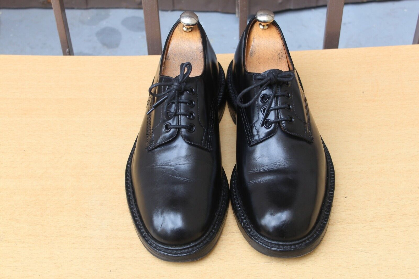 Trickers zapatos double leather soles 7 41 excellent condition hombres zapatos