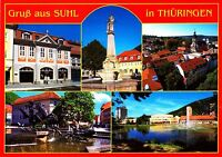 Gruß aus Suhl in Thüringen , Ansichtskarte