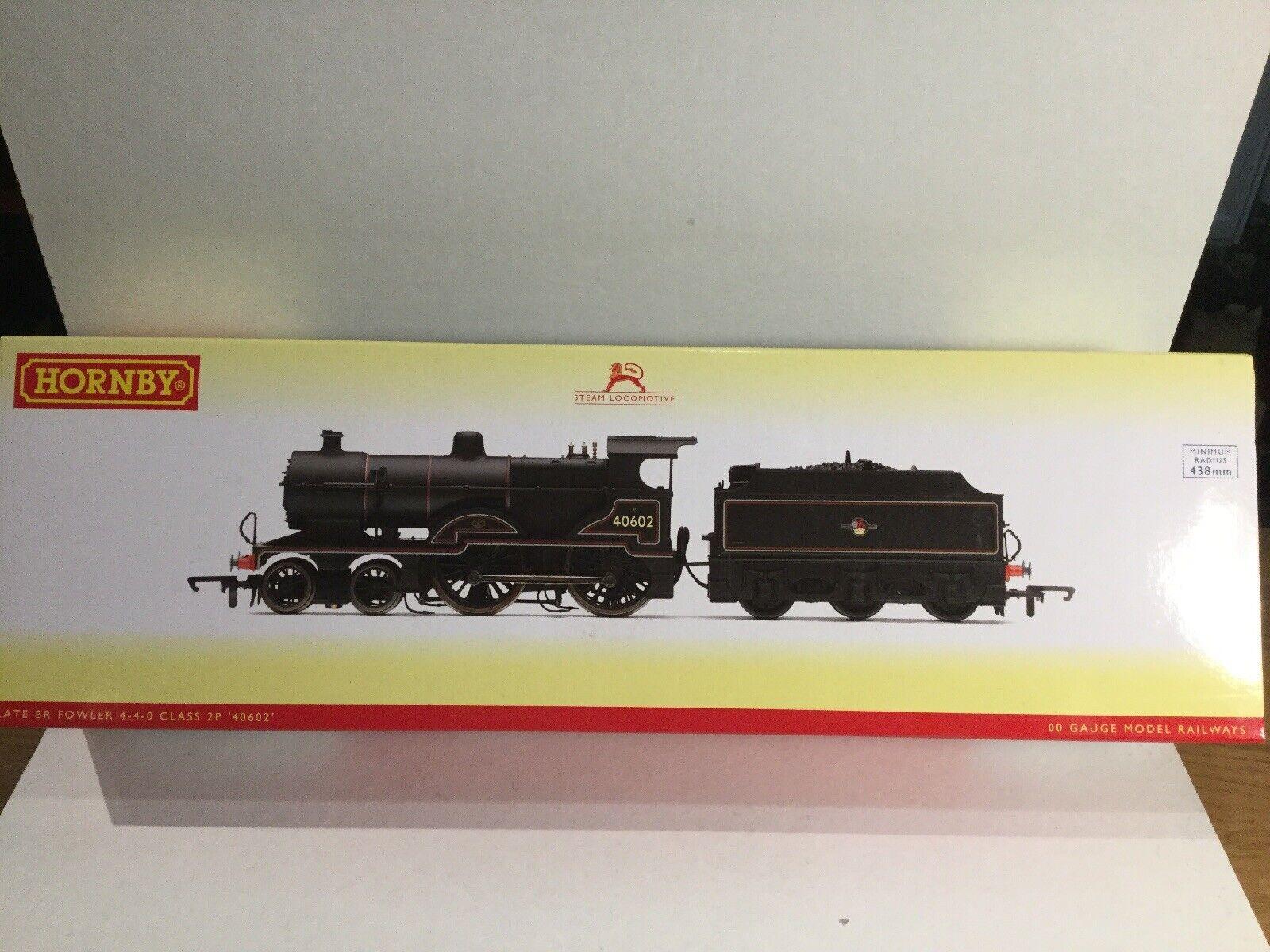 Hornby OO Gauge R3315 BR (late) 4-4-0 Class 2P Fowler 40602 Locomotive 00 Gauge