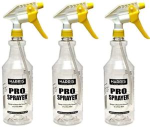 Harris Professional Spray Bottle 32 Oz 3 Pack 72725002195 Ebay