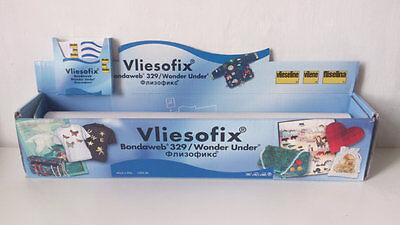 Vliesofix Bondaweb 329 45cm Wide Width x Choice of Lengths Wonder Under