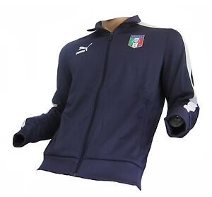 Italien Trainingsjacke Puma T7 Navy XL