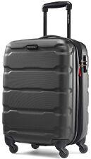 "Samsonite Omni 20"" Hardside Spinner Expandable Carry On Luggage - Black"