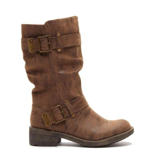 Brown £78 Rrp Size Tan Heirloom Trumble 3 Rocket Biker Dog Boots Ladies New qXSaw