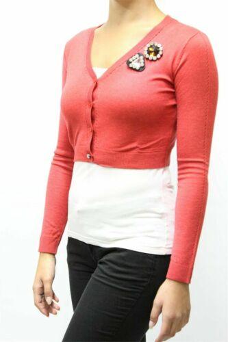 Aa 50 Rosso Donna Donna Cardigan Elice 00 Pinko xs Art Cardigan € 127 Mis q6vAOA