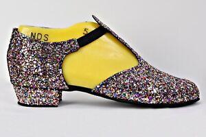 Multi-Rock-Glitter-Full-Suede-Sole-Greek-Sandal-Covered-Heel