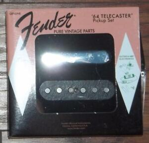 Fender-Pure-Vintage-039-64-Telecaster-Pickup-Set-Made-In-USA-0992234000-Brand-New
