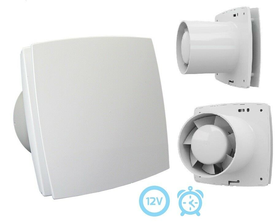 Haus- und Badlüfter  BF  mit 12V-Motor, Timer, Raumlüfter, 150mm (41049)     | Smart  | Ausgewählte Materialien  | Verkauf Online-Shop