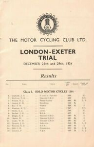 1934-Motor-Cycling-Club-London-Exeter-Trial-Motorcycle-Racing-Results-Booklet