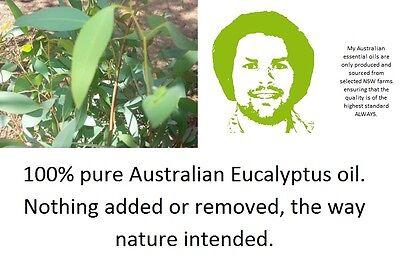 100% Eucalyptus Oil 1L 1litre bulk