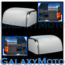 08-16 Ford Super Duty F250+F350+F450 Triple Chrome Plated TOP HALF Mirror Cover