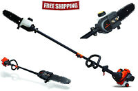 Remington 10 Ft Gas Pole Saw 8 In Chain Chainsaw Tree Trimmer Branch Pruner
