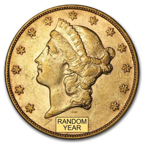 SKU #159354 $20 Liberty Gold Double Eagle XF Random Year