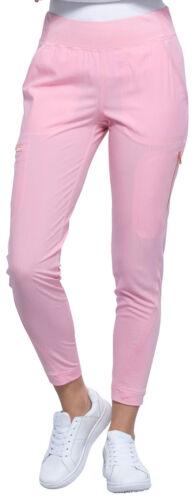 Cherokee Women/'s Mid-Rise Tapered Figure Flattering Leg Seam Pull-on Pant CK175