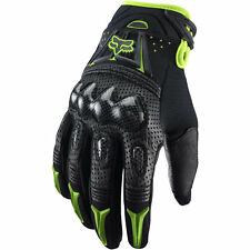 Fox Racing Bomber Full Finger Gloves - Unisex Adults - Size L(10-11cm) - Green