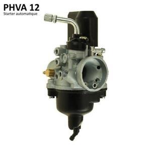 Carburateur-12-PHVA-starter-electrique-Auto-pour-peugeot-ludix-exp-24-h