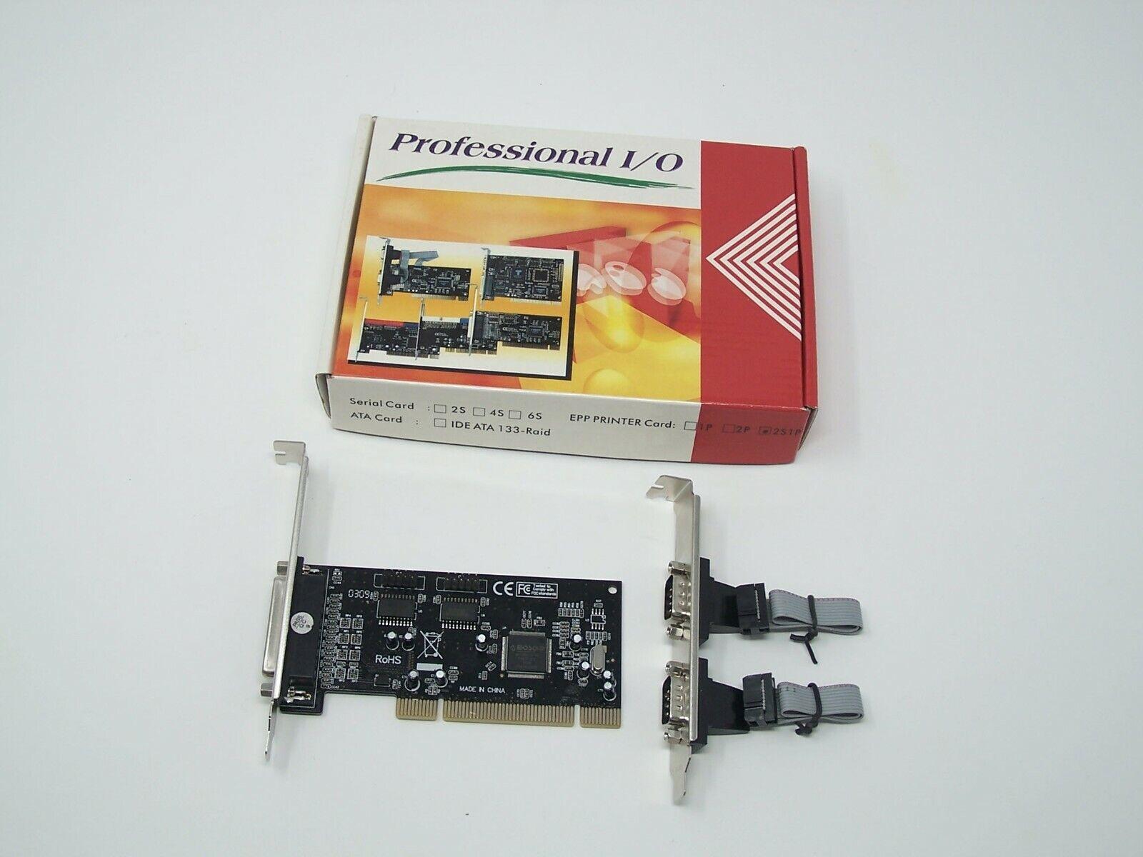 1-Port Parallel PCI Card GRBRENH 2-Port Serial