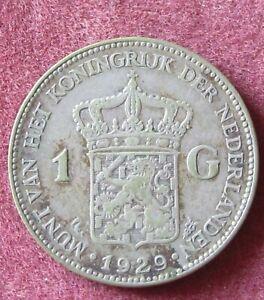1929 Pays-bas 1 Florin Argent.-afficher Le Titre D'origine Lwuh738k-07233539-692468800