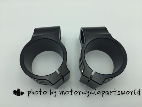 "7//8/"" Tube 51mm CNC Motorcycle Universal Clip On Ons Fork Handle Bar Handlebars"