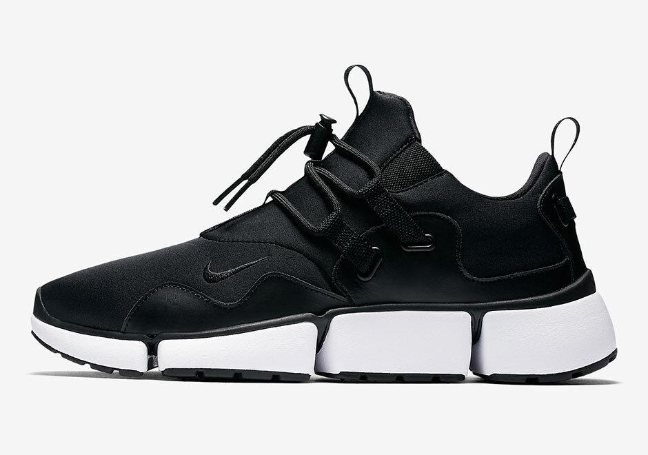 Nuevo!Nike navaja Sportswear DM 898033-001 Negro / Blanco Hombre Sportswear navaja zapatos para correr 66f7e7