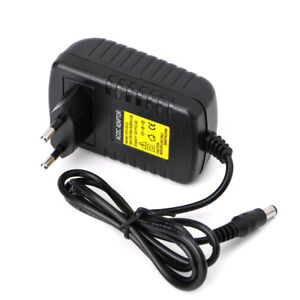 EU Plug AC 100-240V to DC 12V 2A Switching Power Supply Converter Adapter