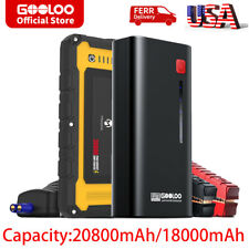 Portable Car Jump Starter Jumper Box Auto Power Bank Battery Booster Charger 12v