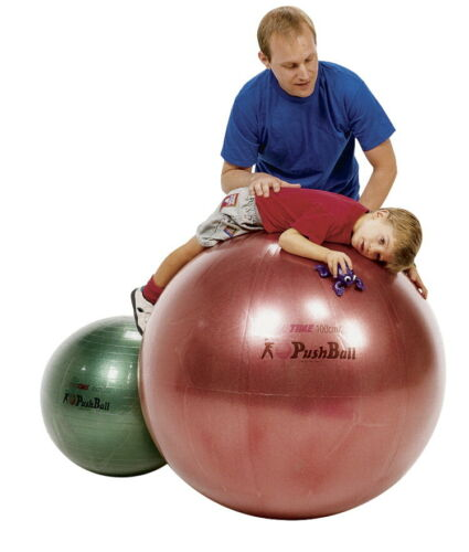 Sportime Ultimax Pushball Therapy Ball 40 Inches Red