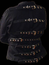 Straight Jacket straitjacket with leather straps 5XL