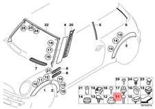 Genuine BMW 5Pcs Screw MINI Cooper One R50 R52 R53 Coop.S JCW GP 07131022174