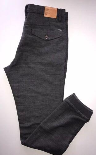 52 Eu NWT $155 Boss Hugo Boss Patel Gray Siman-W Tapered Fit Mens Pants 36 US