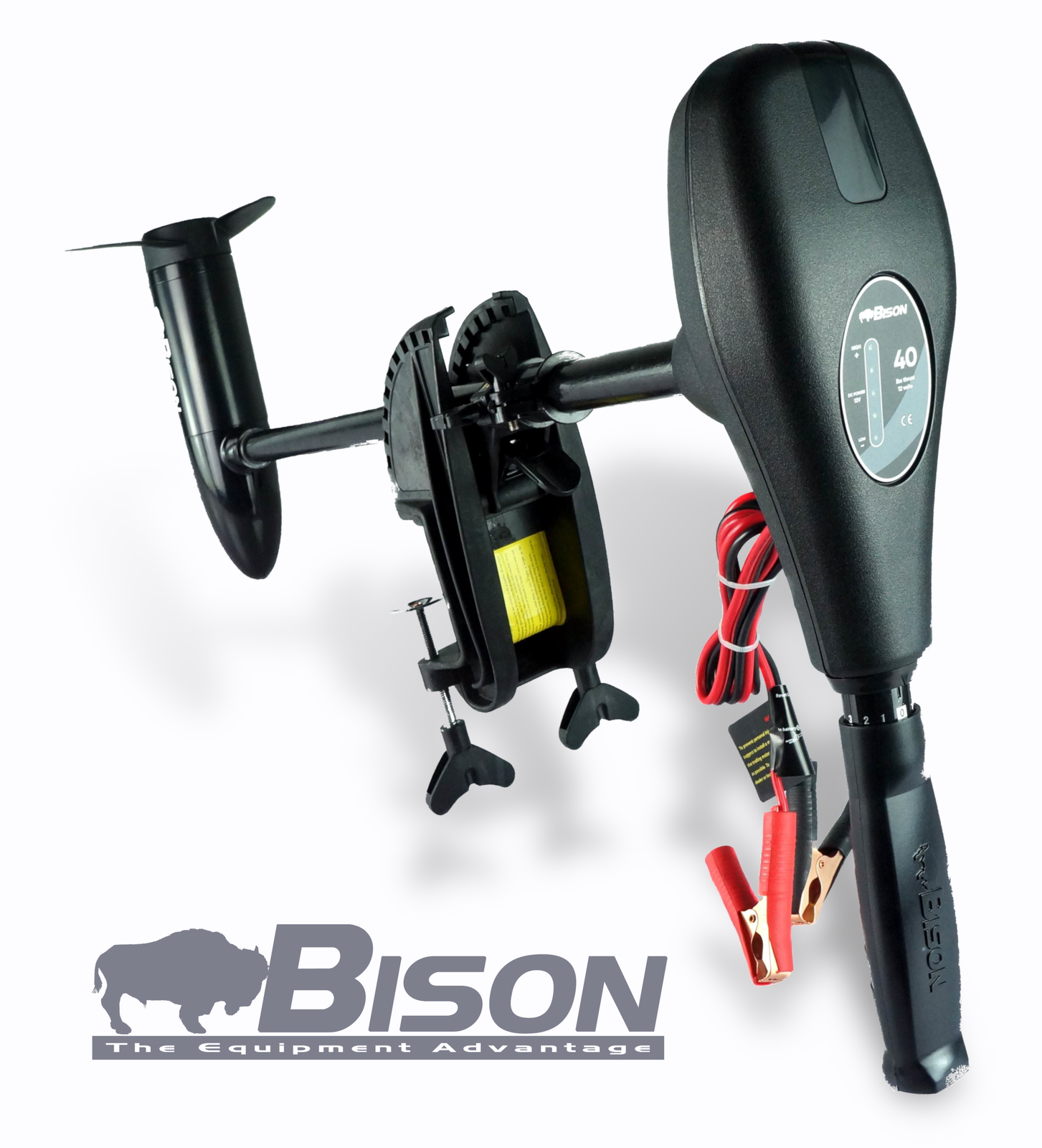 BISON 55ft/lb ELECTRIC OUTBOARD MOTOR MOTOR OUTBOARD 25b23d