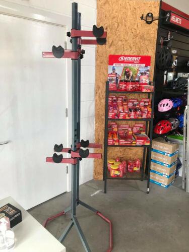Freestanding 4 bike stand