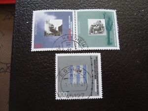 Germany-Rfa-Stamp-Yvert-and-Tellier-N-1626-A-1628-Obl-A5-Stamp-Germany