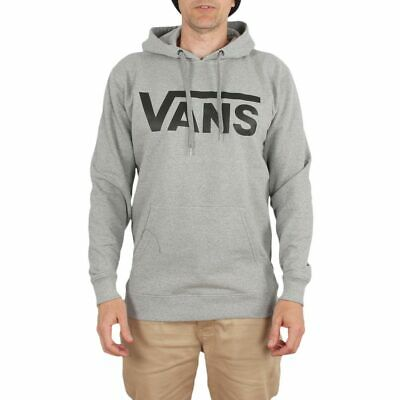 Vans Classic Pullover Hoodie Zement HeatherBlack   eBay