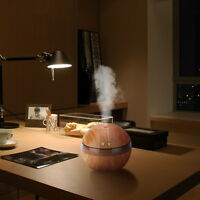 300ML Ultraschall Luftbefeuchter USB Nebel-Hersteller Aroma Ätherisches Diffuser