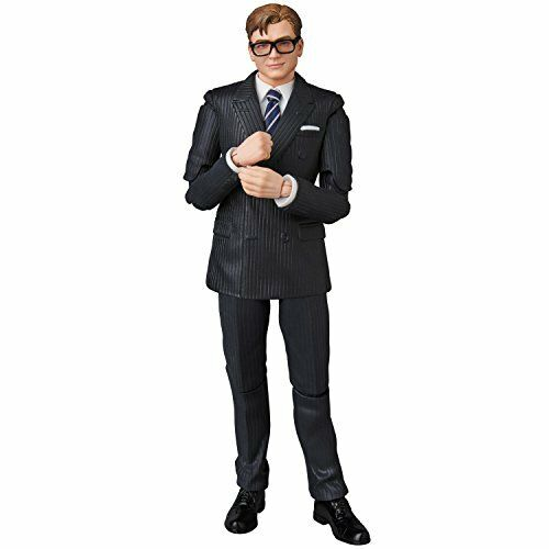 MAFEX Mafex No.072 Kingsman Gary (Egy) Unwin Total Height Approximately 145 mm