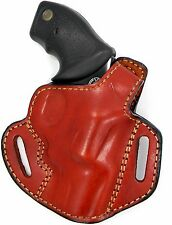 "Premium Leather Thumb Break Belt Holster for CHARTER ARMS 3"" & 4""REVOLVER 38/357"