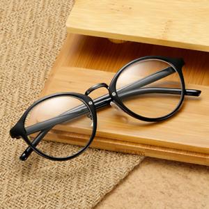 Aoron Vintage Hottest Fashion Men Women Eyeglass Round Frame Clear Full Rim Spectacles Eyewear Optical Fine Quality Apparel Accessories